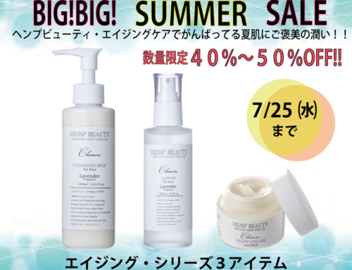 BIG!BIG!  SUMMER  SALE